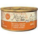Muse® by Purina® Natural Chicken & Carrots Pate Recipe Cat Food 3 Oz. I010768