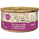 Muse® by Purina® Natural Salmon & Shrimp Pate Recipe Cat Food 3 Oz. I010769