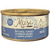 Muse® by Purina® Natural Turkey & Spinach Pate Recipe Cat Food 3 Oz. I010770