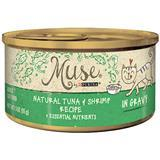 Muse® by Purina® Natural Tuna & Shrimp in Gravy Recipe Cat Food 3 Oz. I010777