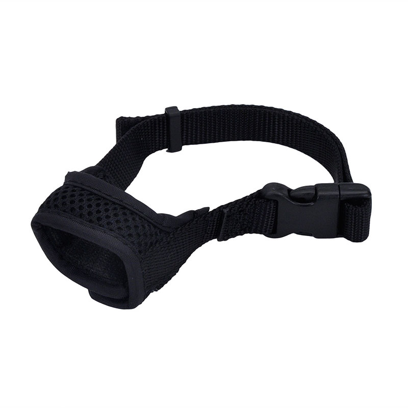 Coastal® Best Fit® Adjsutable Comfort Dog Muzzle Black I010812b