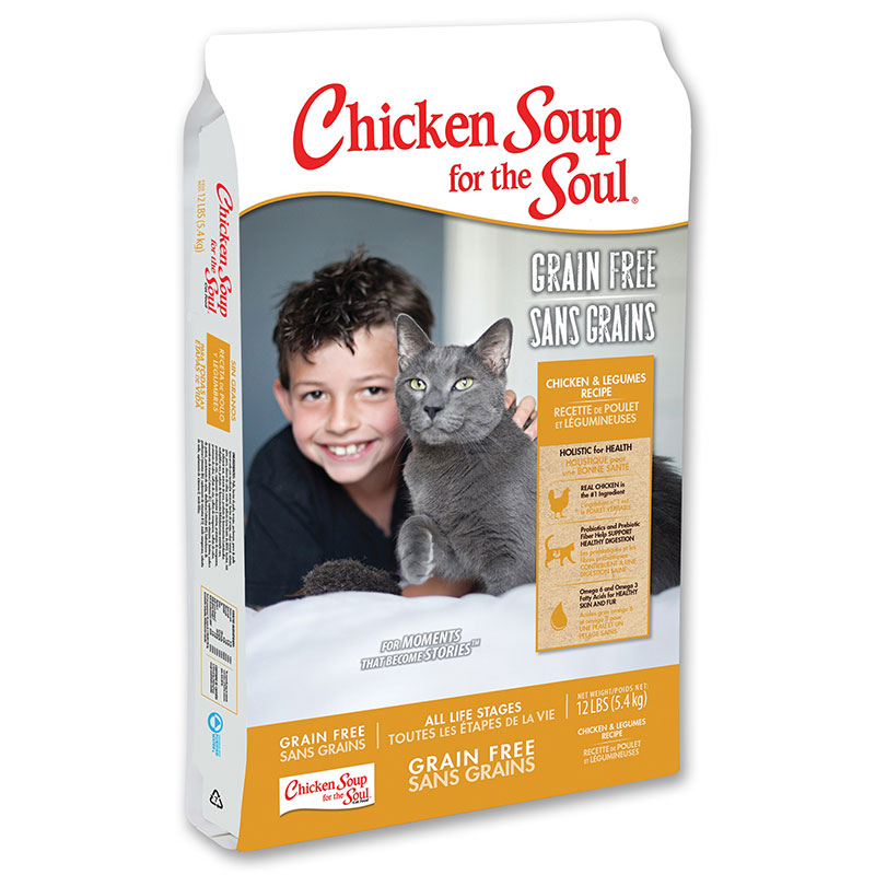 Chicken Soup for the Soul® Grain Free Chicken & Legumes Cat Food