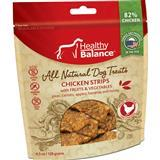 Healthy Balance™ All Natural Dog Treats Chicken Strips with Fruit & Vegetables 4.5oz I010978