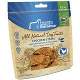 Healthy Balance™ All Natural Dog Treats Chicken Strips with Glucosamine & Chondroitin 4.5oz I010980