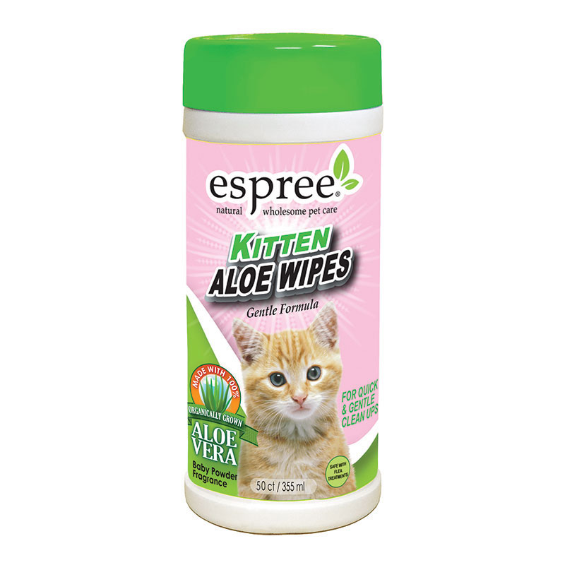 Espree® Kitten Aloe Wipes 50 Count I011044