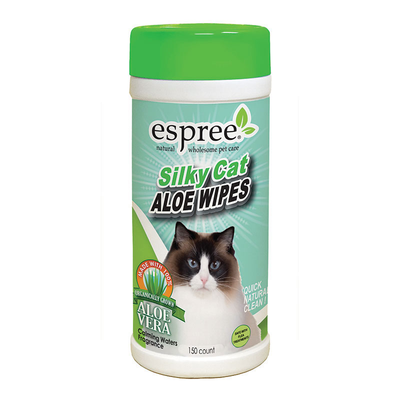 Espree® Silky Cat Aloe Wipes 50 Count I011045
