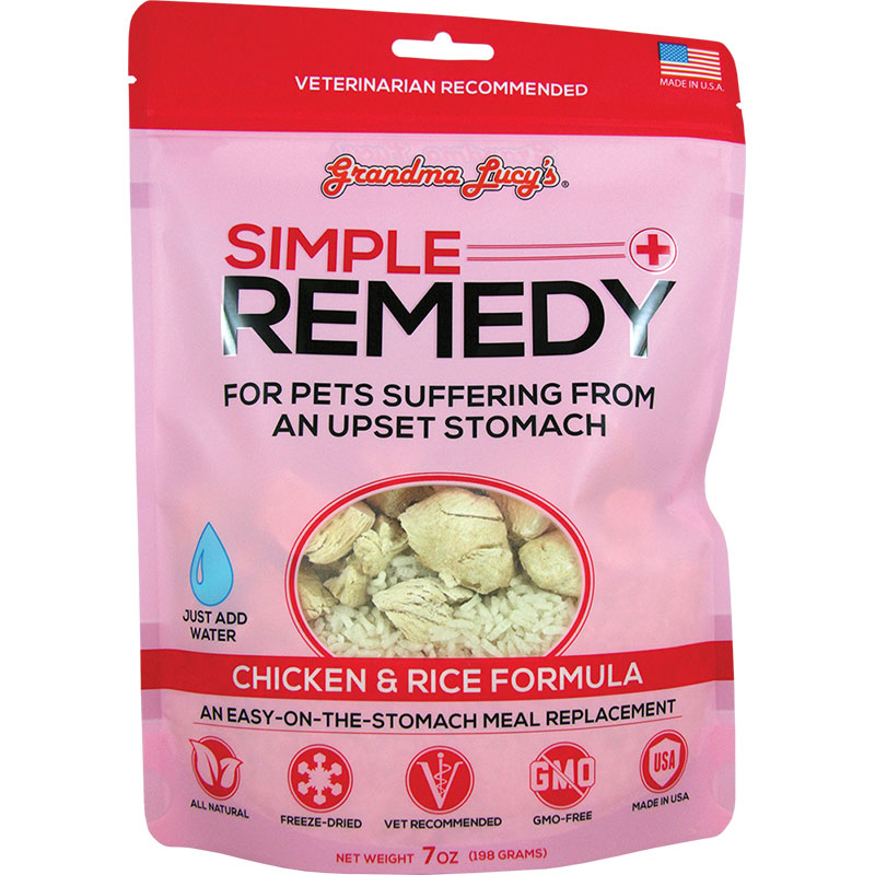 Grandma Lucy's® Simple Remedy Chicken & Rice 7oz. I011125