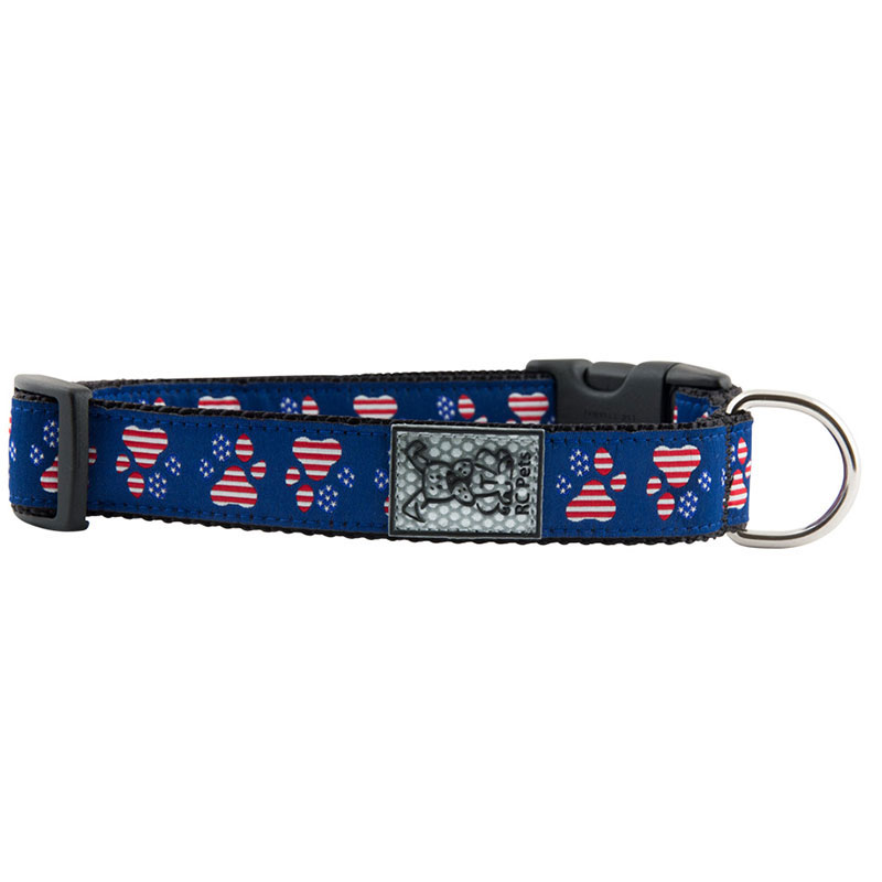 RC Pet Products Patriotic Paws Clip Collar I011217b
