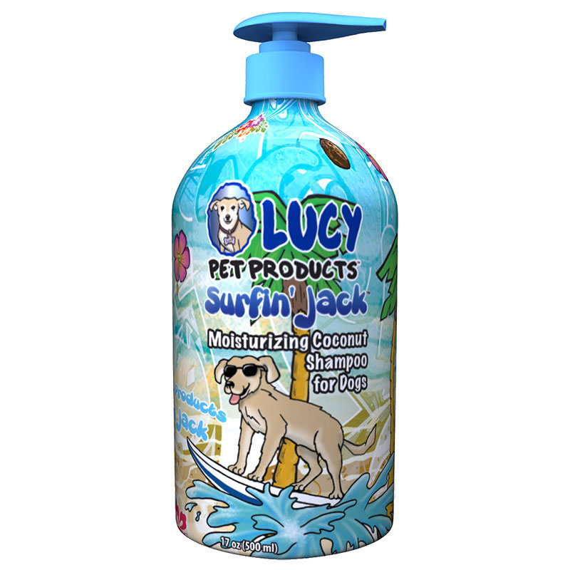 Lucy Pet Products™ Surfin' Jack™ Coconut Moisturizing Coconut Shampoo 17 oz. I011229