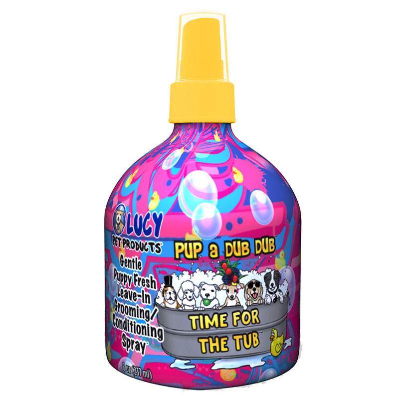 Lucy Pet Products Pup a Dub Dub™ Leave-in Conditioning Spray 8 oz. I011247