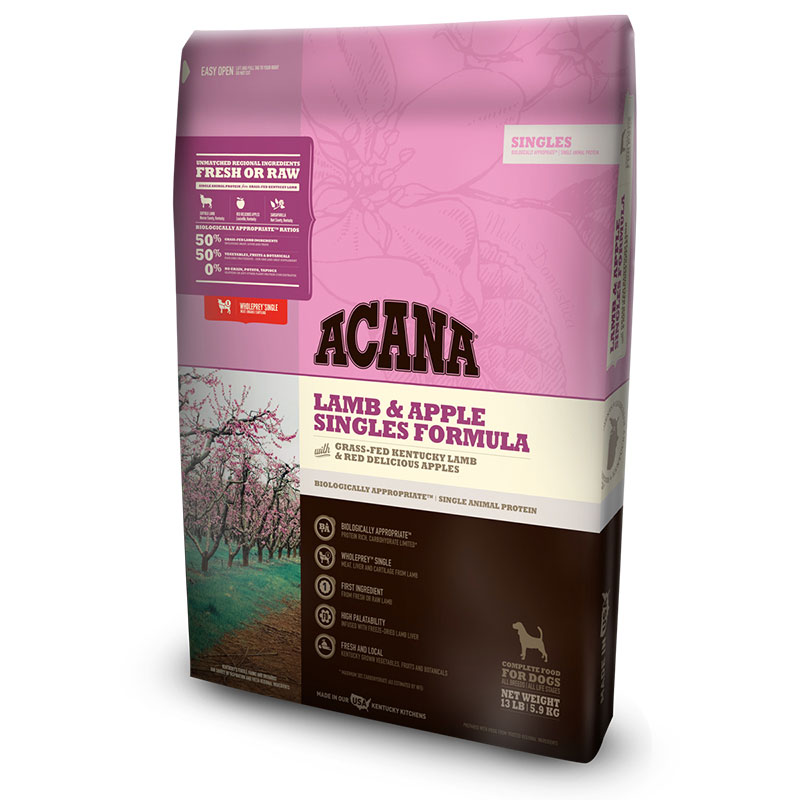 ACANA® Singles Lamb & Apple Dog Food I011327b