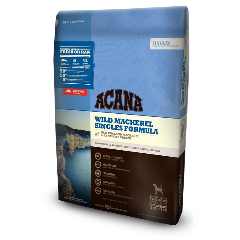 ACANA® Singles Wild Mackerel Dog Food I011339b