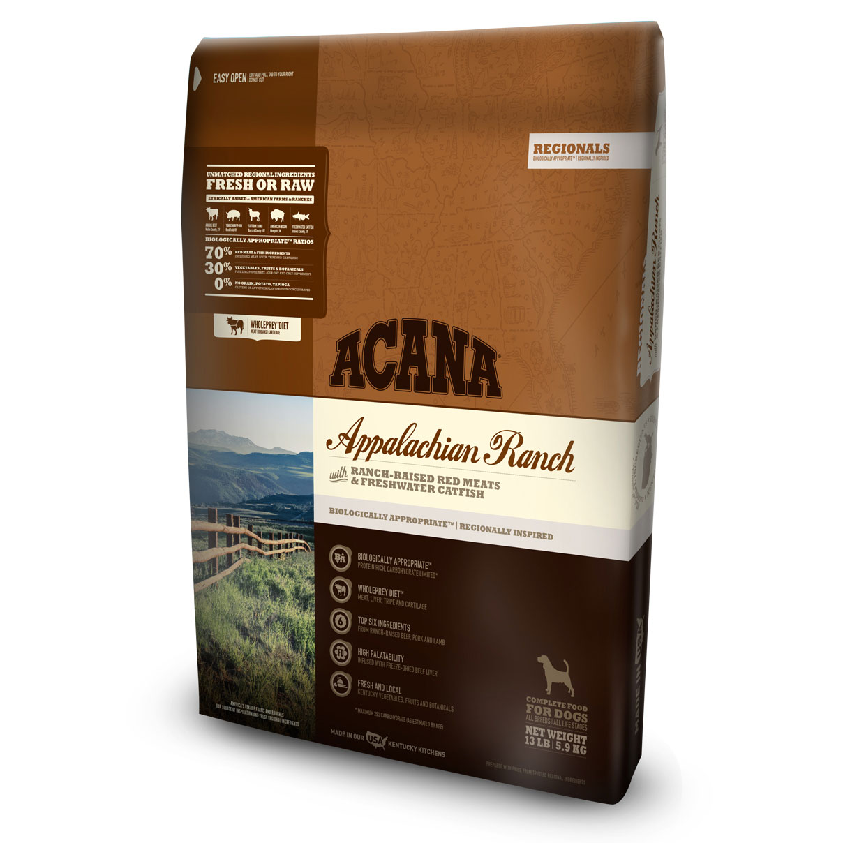 ACANA® Regionals Appalachian Ranch Dog Food I011355b