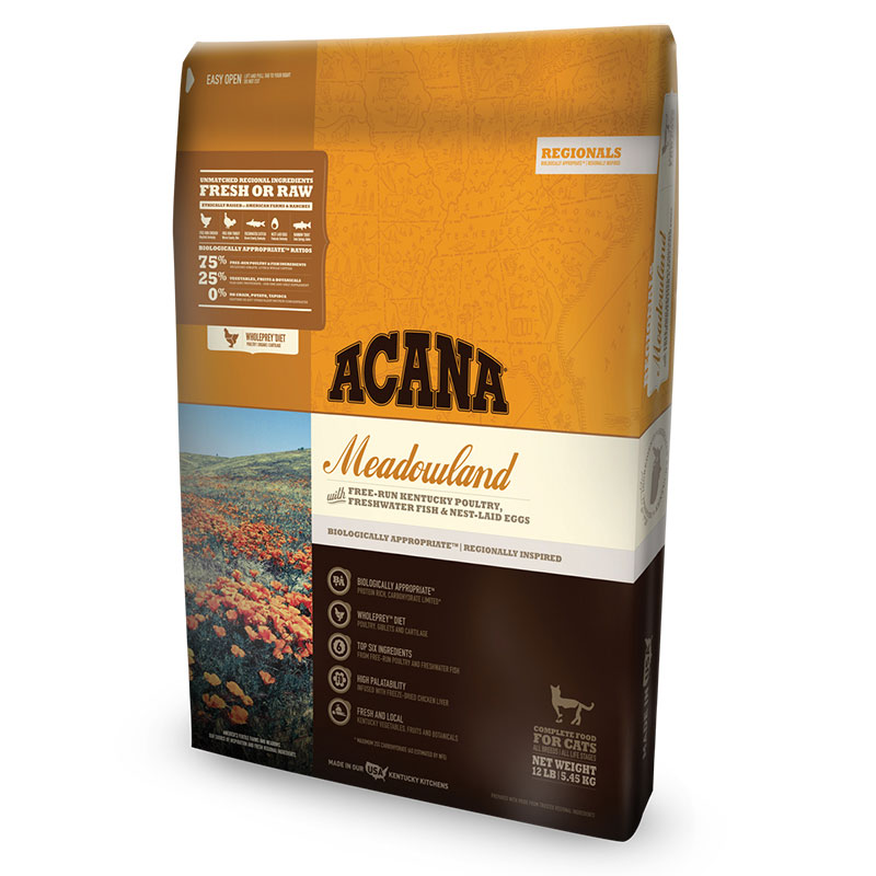ACANA® Regionals Meadowland Cat Food I011359b