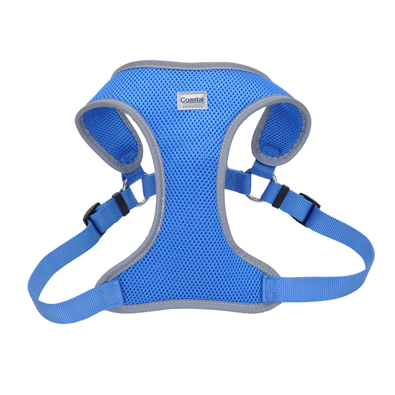 Coastal Comfort Soft Reflective Wrap Adjustable Dog Harness Blue Lagoon  I011410b