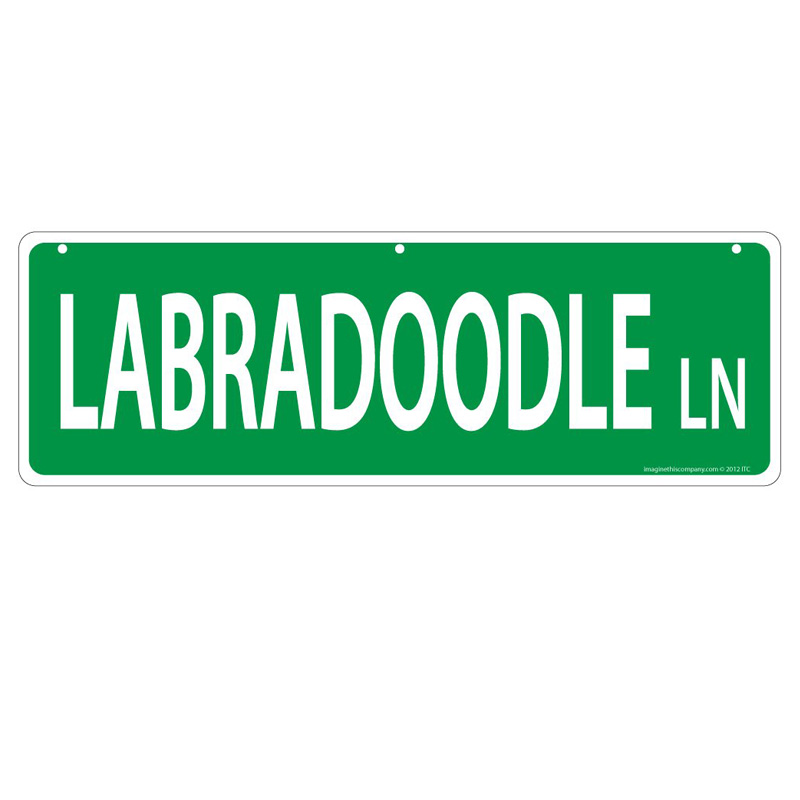 Labradoodle Lane Street Sign  I011448