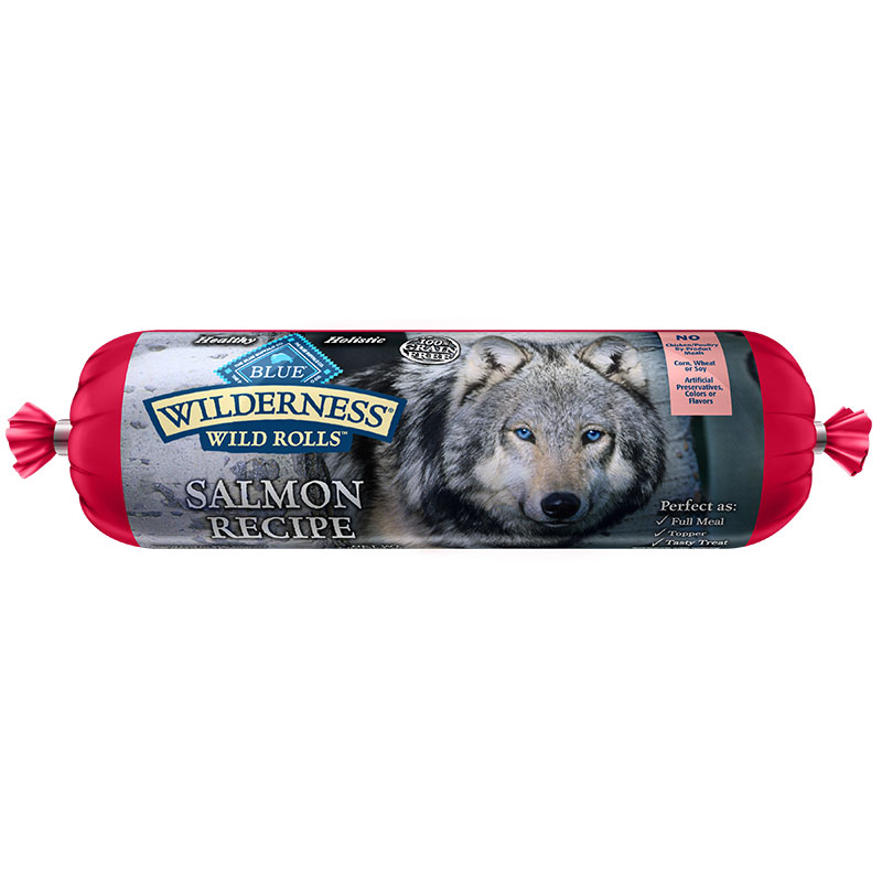 Blue Buffalo BLUE Wilderness Wild Rolls Salmon I011462b