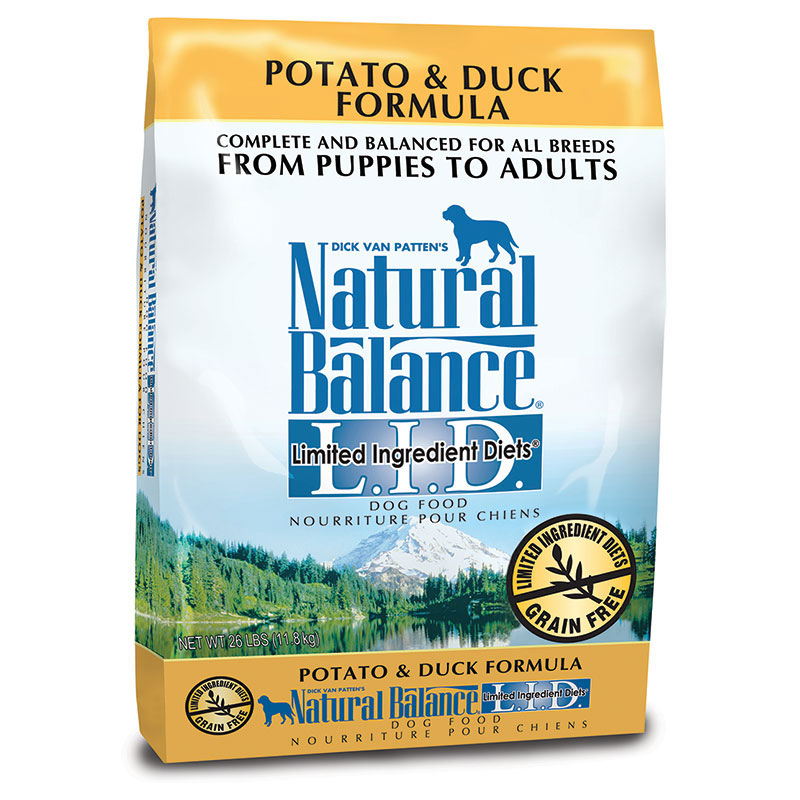 Natural Balance®L.I.D. Limited Ingredient Diets® Potato & Duck Dry Dog Formula 26 lbs. I011471