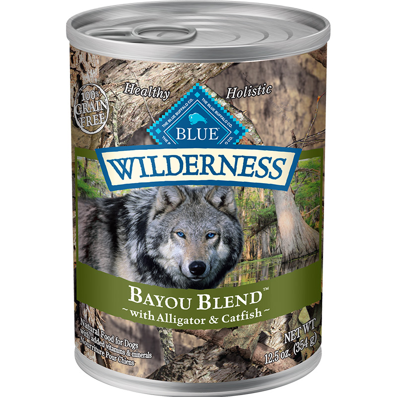 Blue Wilderness Bayou Blend with Alligator & Catfish 12.5 oz. I011504
