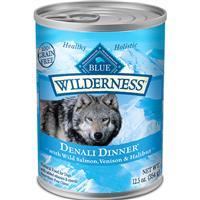 Blue Wilderness Denali Dinner with Wild Salmon, Venison & Halibut 12.5 oz. I011505