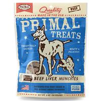 Primal Freeze Dried Beef Liver Treat 2oz. I011568