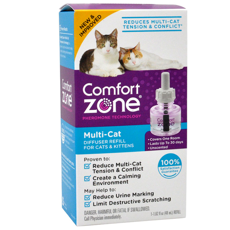 Comfort Zone® Multicat Diffuser with Feliway® Refill I011724