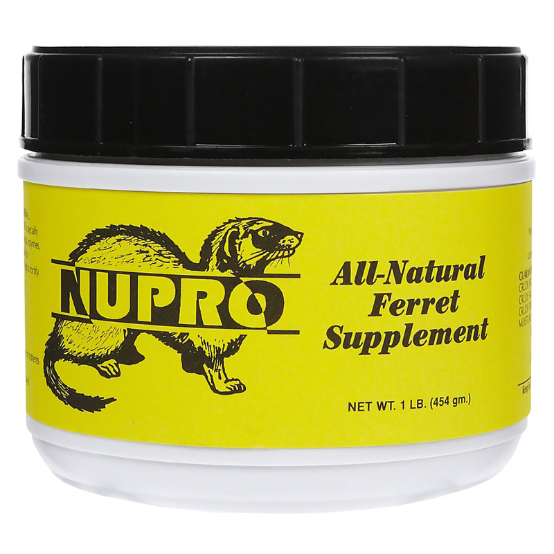 Nupro Ferret All-Natural Health Supplement 1lb I011779