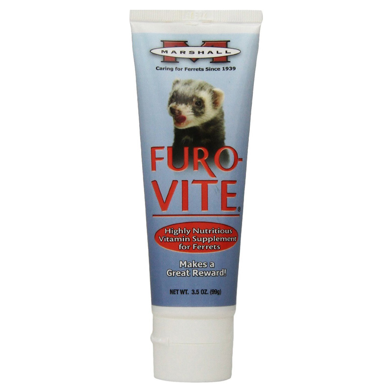 Marshall Furo-Vite Vitamin Supplement for Ferrets 3.5 oz  I011786