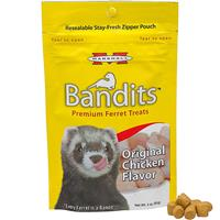 Bandits Premium Ferret Treats Original Chicken Flavor 3 oz. I011789