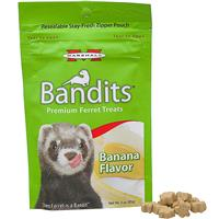Bandits Premium Ferret Treats Banana Flavor 3 oz. I011790
