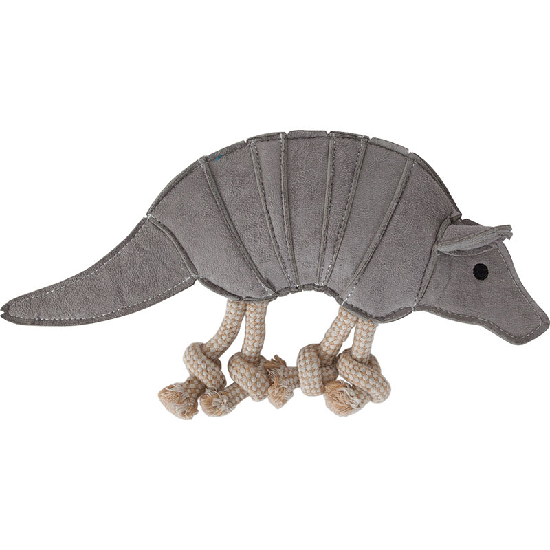 Petmate® Mutt Nation™ Armadillo Faux Suede Dog Toy I011994