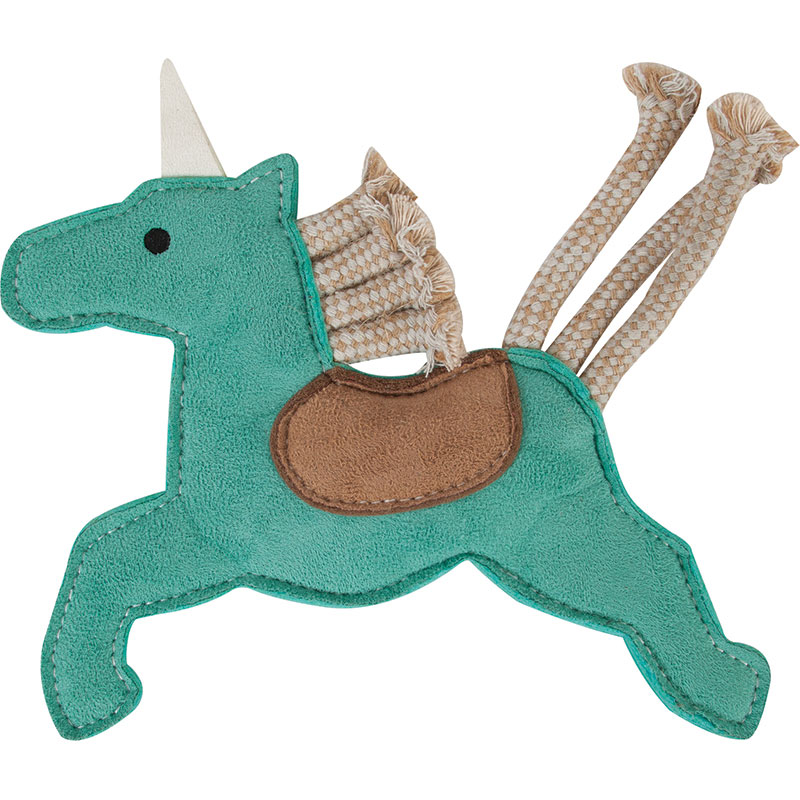 Petmate® MuttNation™ Unicorn Faux Suede Dog Toy I011996