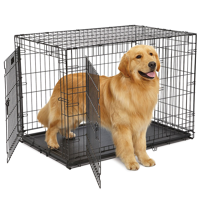 Midwest® Countour Double Door Dog Crate I012012b