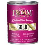 Fromm® Family Gold Salmon & Chicken Pâté Can Food for Dogs I012035