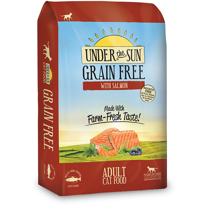 Under The Sun® Grain Free Adult Cat Food With Salmon 2.5 lbs. I012045