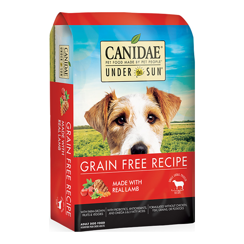 Under The Sun® Grain Free Adult Dog Food With Lamb I012050b