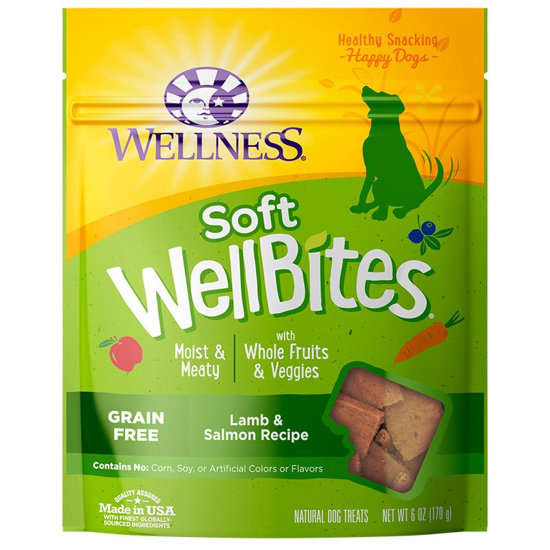 Wellbites Lamb & Salmon Soft Treats 6oz I012065