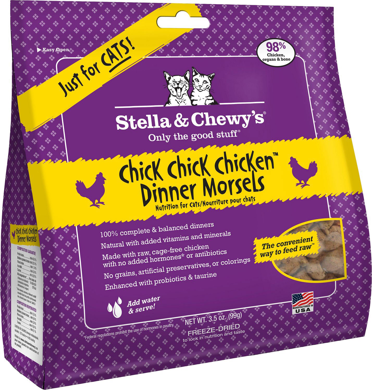 Stella & Chewy's® Chick Chick Chicken™ Dinner Morsels 3.5 oz. I012089