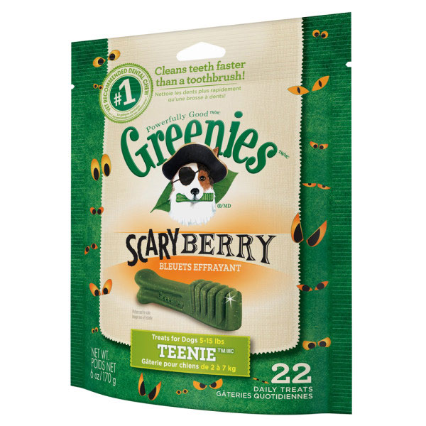 Greenies®Scary Berry Dental Dog Treats I012127b