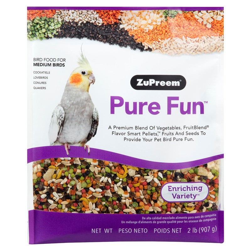Zupreem Pure Fun™ Medium Bird Food 2lbs I012131