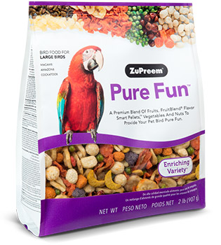 Zupreem FruitBlend® Large Bird Food 2lbs I012133