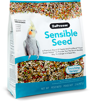 Zupreem Sensible Seed Medium Bird Food 2lbs I012134