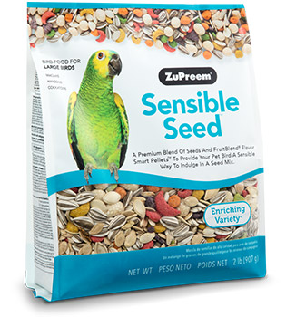 Zupreem Sensible Seed™ Large Bird Food 2lbs I012136