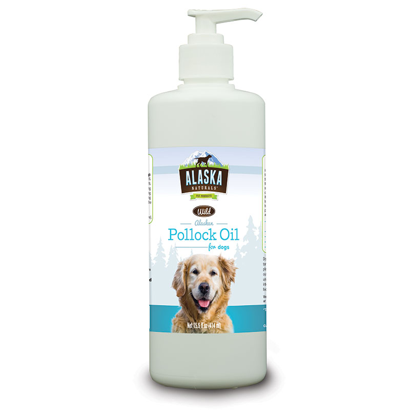Alaska Naturals Pollock Oil For Dogs 15.5 oz. I012177