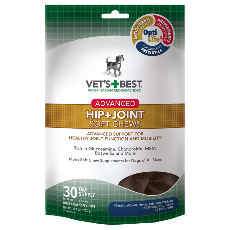 Vet's + Best® Advanced Hip + Joint Soft Chews 30 ct. I012342