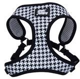 Coastal® Pet Attire® Ribbon Designer Wrap Adjustable Houndstooth Harness I012413b