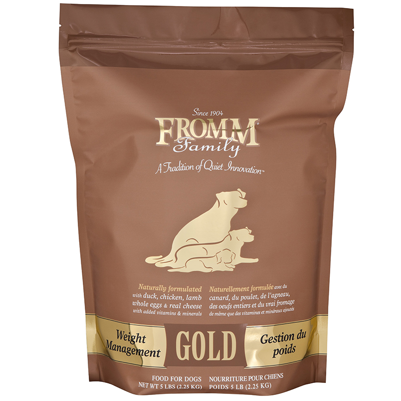 Fromm Gold Weight Management Adult Dog Food I012421