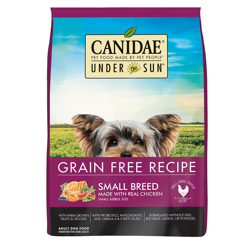 Canidae Under The Sun Grain Free Small Breed Chicken Dog Food I012455b
