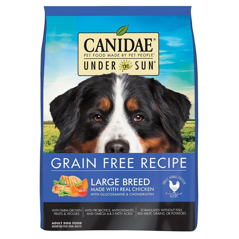 Canidae Under The Sun Grain Free Large Breed Chicken Dog Food 25lbs.