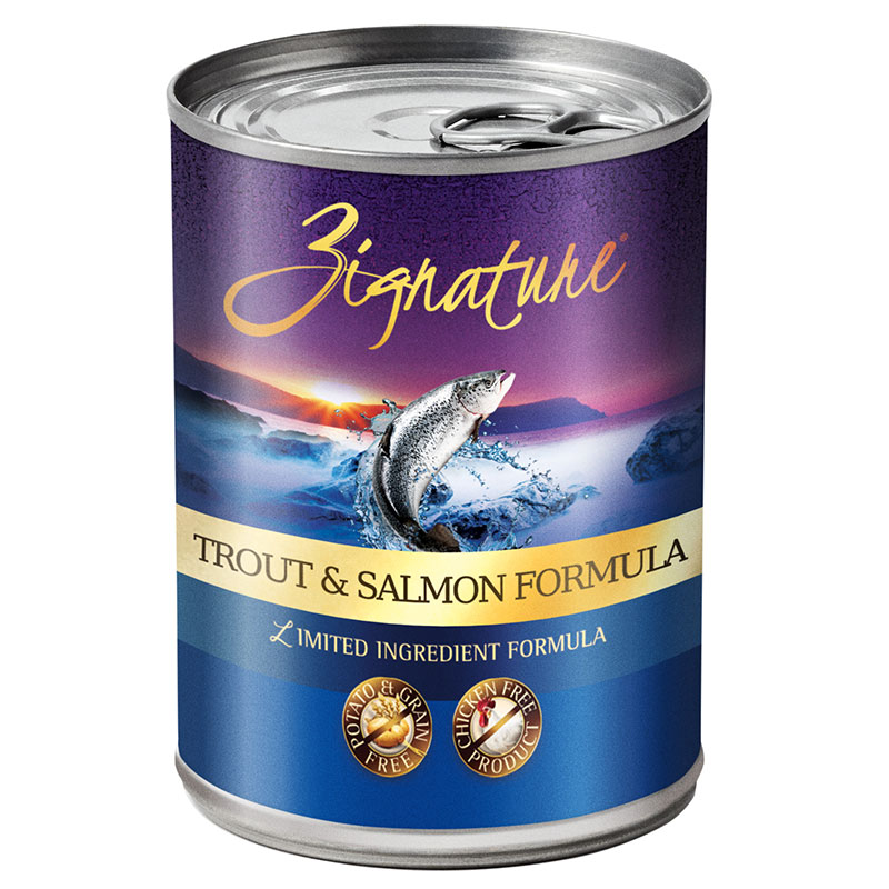 Zignature Trout /Salmon Formula 13 oz. I012484